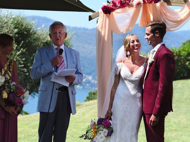 Il matrimonio di Clayton e Lara a Laveno-Mombello, Varese 33