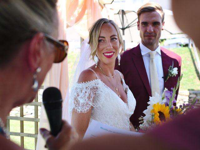 Il matrimonio di Clayton e Lara a Laveno-Mombello, Varese 34