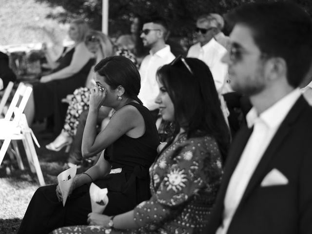 Il matrimonio di Clayton e Lara a Laveno-Mombello, Varese 36