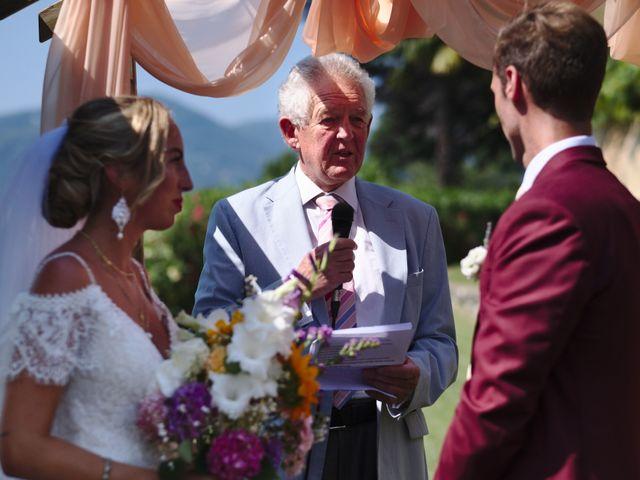 Il matrimonio di Clayton e Lara a Laveno-Mombello, Varese 37