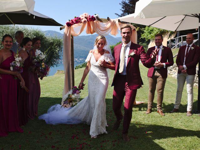 Il matrimonio di Clayton e Lara a Laveno-Mombello, Varese 39