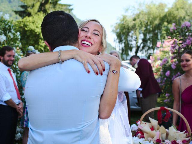 Il matrimonio di Clayton e Lara a Laveno-Mombello, Varese 44