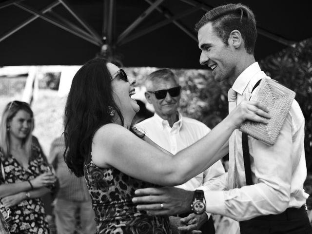 Il matrimonio di Clayton e Lara a Laveno-Mombello, Varese 45