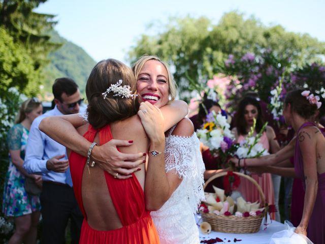 Il matrimonio di Clayton e Lara a Laveno-Mombello, Varese 46