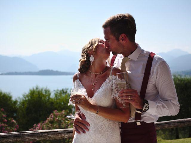 Il matrimonio di Clayton e Lara a Laveno-Mombello, Varese 49