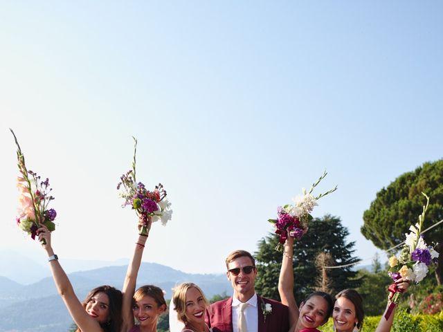 Il matrimonio di Clayton e Lara a Laveno-Mombello, Varese 56