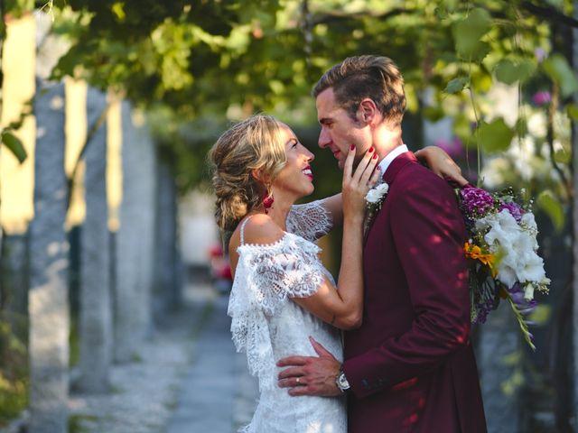 Il matrimonio di Clayton e Lara a Laveno-Mombello, Varese 1