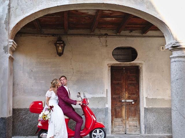 Il matrimonio di Clayton e Lara a Laveno-Mombello, Varese 59