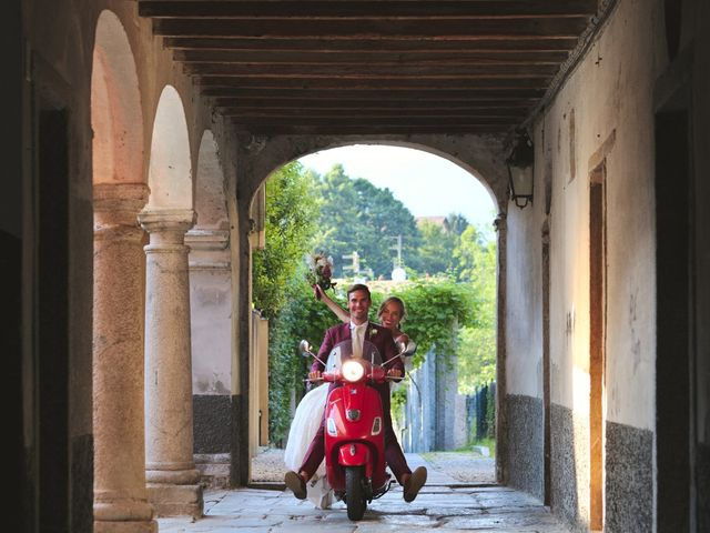 Il matrimonio di Clayton e Lara a Laveno-Mombello, Varese 60