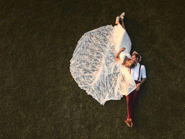 Il matrimonio di Clayton e Lara a Laveno-Mombello, Varese 75