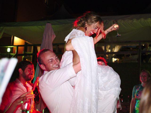 Il matrimonio di Clayton e Lara a Laveno-Mombello, Varese 94