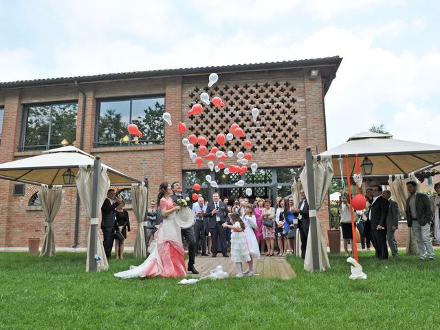 Il matrimonio di Davide e Laura a Castelnovo Bariano, Rovigo 59