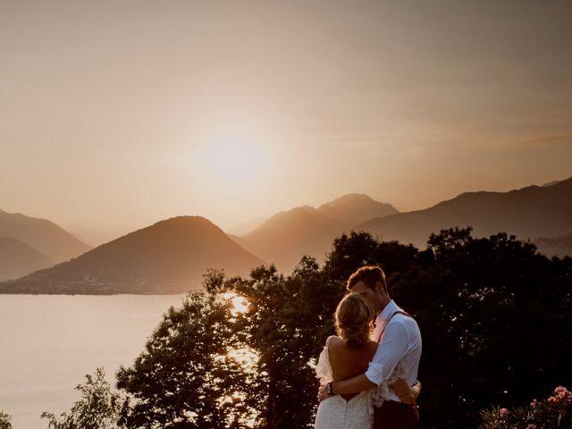 Il matrimonio di Clayton e Lara a Laveno-Mombello, Varese 68