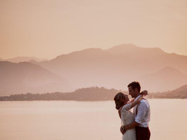 Il matrimonio di Clayton e Lara a Laveno-Mombello, Varese 70