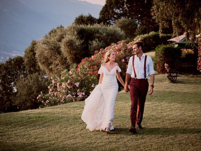 Il matrimonio di Clayton e Lara a Laveno-Mombello, Varese 72