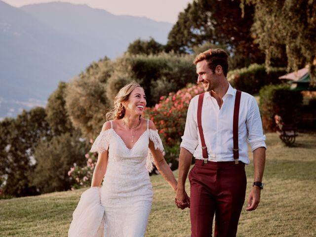 Il matrimonio di Clayton e Lara a Laveno-Mombello, Varese 73