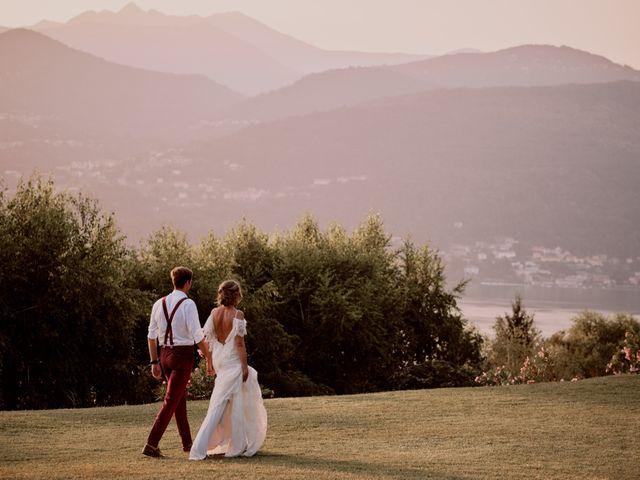 Il matrimonio di Clayton e Lara a Laveno-Mombello, Varese 74