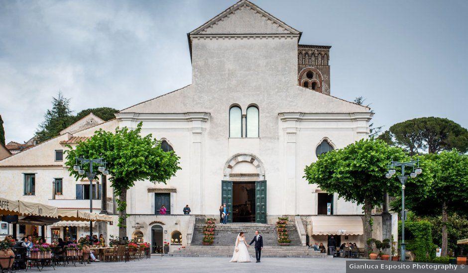 Il matrimonio di Jorge e Katia a Ravello, Salerno