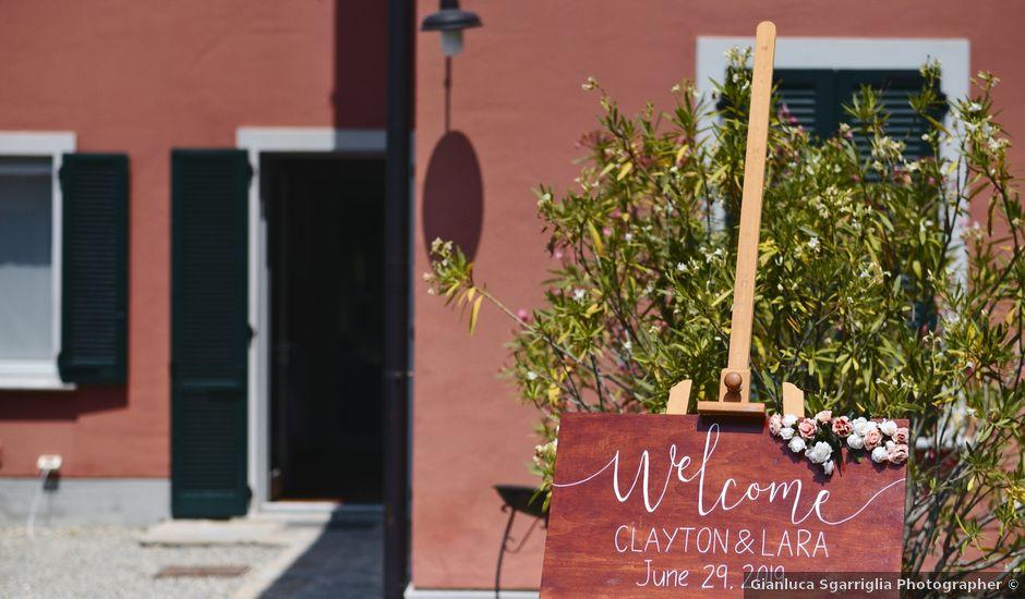 Il matrimonio di Clayton e Lara a Laveno-Mombello, Varese