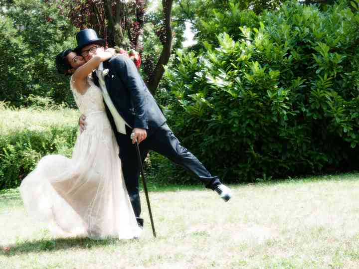 le nozze di Alessandra e Bruno