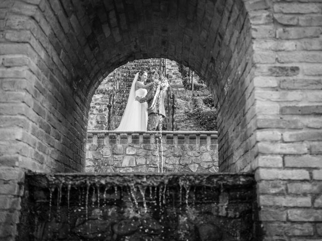 le nozze di Tania e Andrea