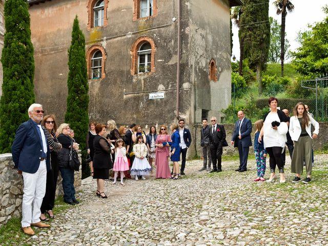 Il matrimonio di Cristian e Elisa a Tremosine, Brescia 43