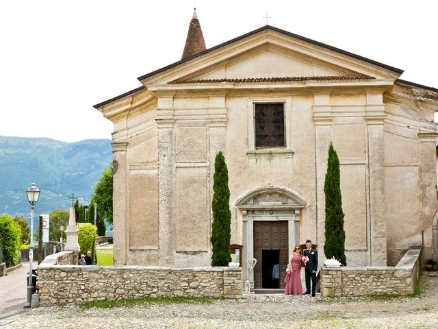 Il matrimonio di Cristian e Elisa a Tremosine, Brescia 45