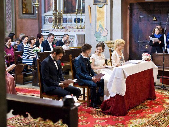 Il matrimonio di Cristian e Elisa a Tremosine, Brescia 57