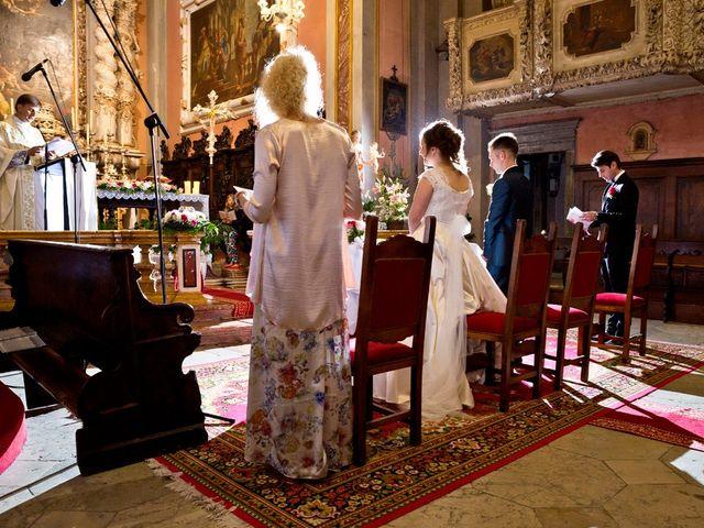Il matrimonio di Cristian e Elisa a Tremosine, Brescia 65