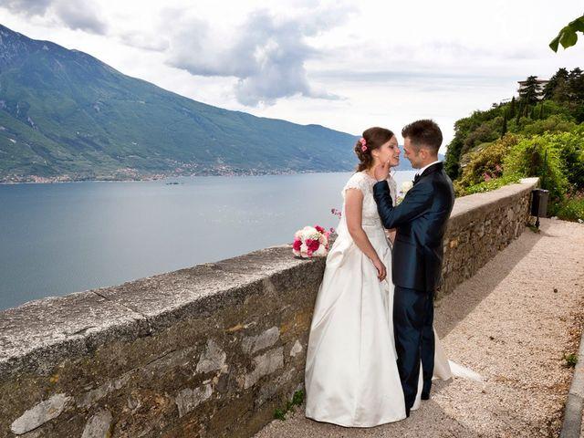 Il matrimonio di Cristian e Elisa a Tremosine, Brescia 76