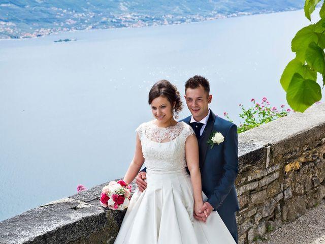 Il matrimonio di Cristian e Elisa a Tremosine, Brescia 77