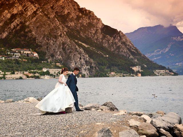 Il matrimonio di Cristian e Elisa a Tremosine, Brescia 89