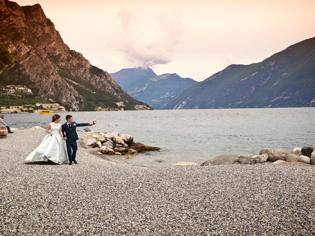 Il matrimonio di Cristian e Elisa a Tremosine, Brescia 90