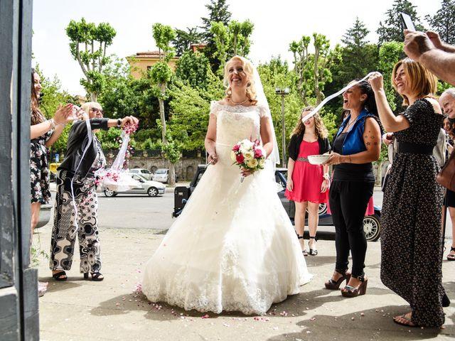 Il matrimonio di Alessandro e Silvia a Ariccia, Roma 12