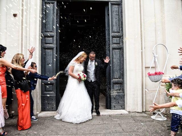 Il matrimonio di Alessandro e Silvia a Ariccia, Roma 15