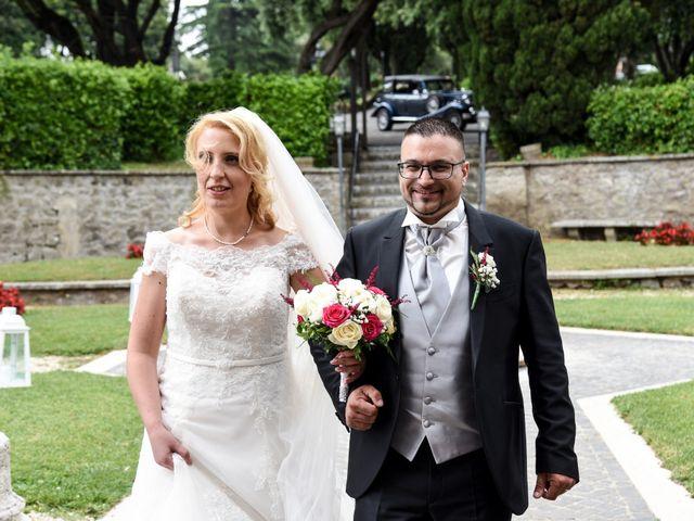 Il matrimonio di Alessandro e Silvia a Ariccia, Roma 17