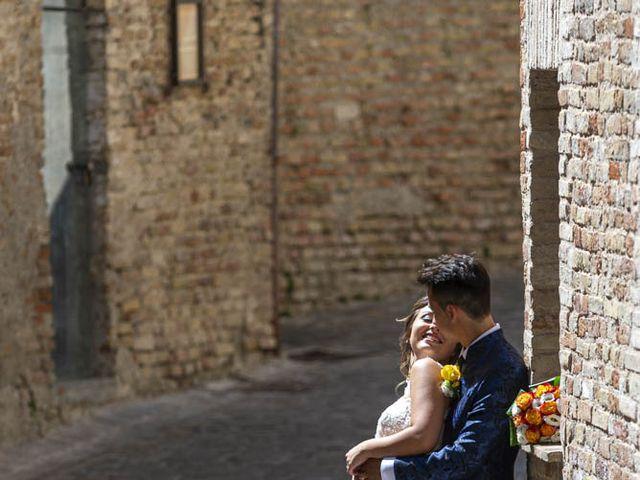 Il matrimonio di Dalila e Marco a Corinaldo, Ancona 43