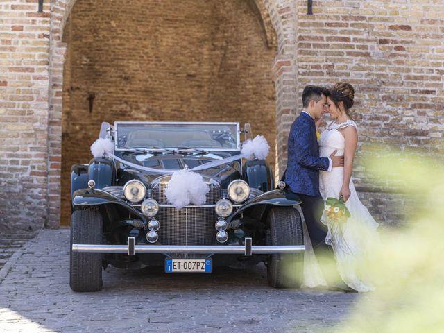 Il matrimonio di Dalila e Marco a Corinaldo, Ancona 58