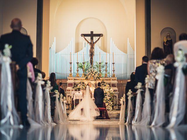Il matrimonio di Ilaria e Francesco a Montespertoli, Firenze 9