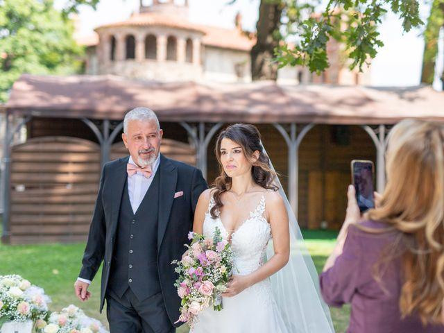 Il matrimonio di Enrico e Sara a Costigliole Saluzzo, Cuneo 14