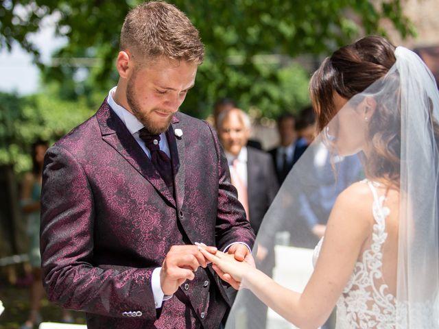 Il matrimonio di Enrico e Sara a Costigliole Saluzzo, Cuneo 18