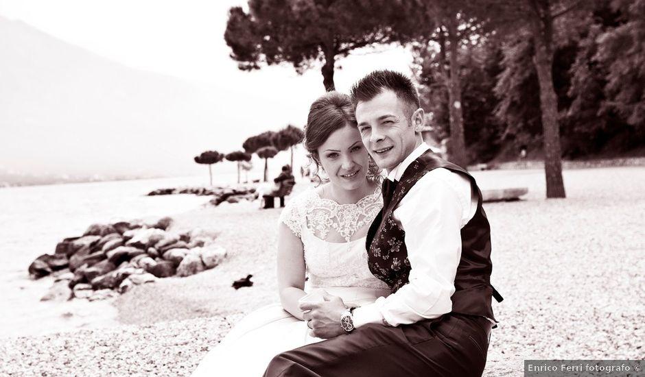 Il matrimonio di Cristian e Elisa a Tremosine, Brescia