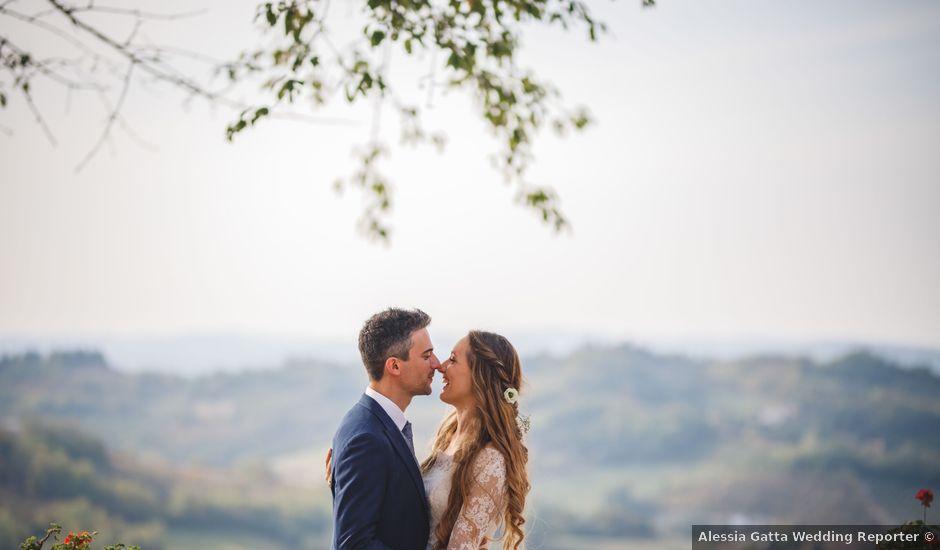 Il matrimonio di Chiara e Alessandro a Tagliolo Monferrato, Alessandria