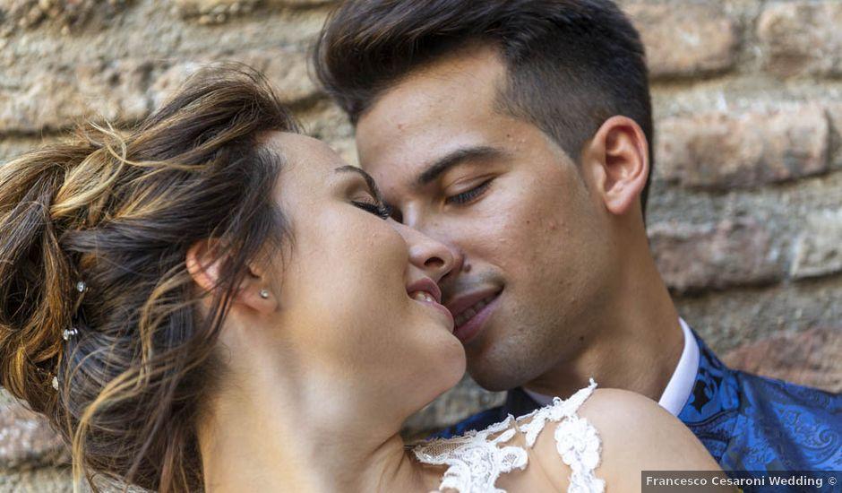 Il matrimonio di Dalila e Marco a Corinaldo, Ancona