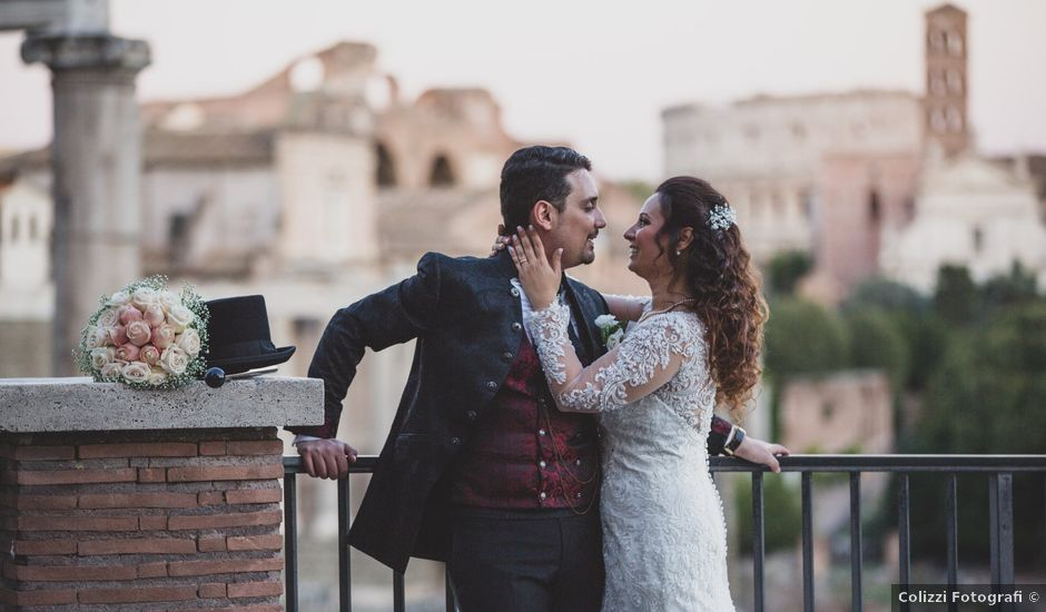 Il matrimonio di Valentina e Giuseppe a Roma, Roma