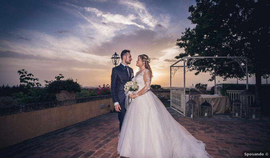 Il matrimonio di Ilaria e Francesco a Montespertoli, Firenze