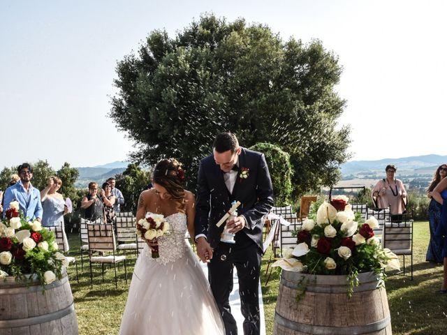 Il matrimonio di Andrea e Elisa a Gavorrano, Grosseto 16