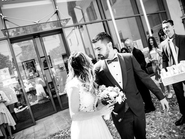 Il matrimonio di Alessandro e Lorena a Pantigliate, Milano 17