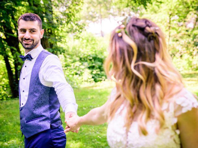 Il matrimonio di Alessandro e Lorena a Pantigliate, Milano 35