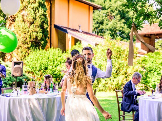 Il matrimonio di Alessandro e Lorena a Pantigliate, Milano 43